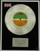 "AC/DC  -  7""    Platinum Disc  -  LET THERE BE ROCK"